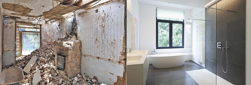 Aménagement salles de bain