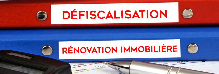défiscalisation rénovation immobilière