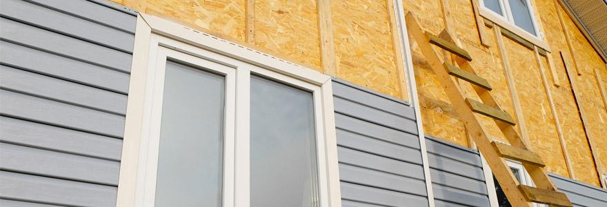revêtements extérieurs pour façades bardage en PVC