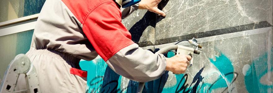 Enlever un graffiti